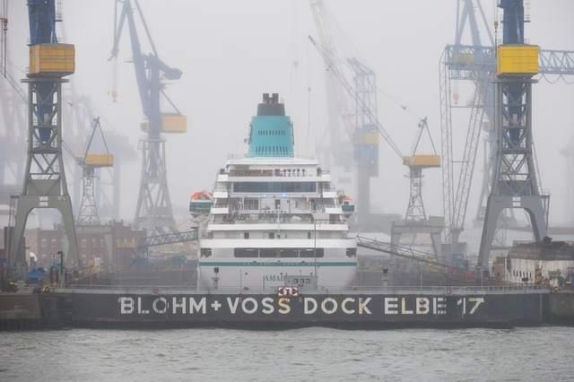 Blohm und Voss Werft - Schwimmdock