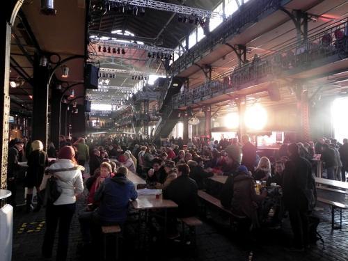 Markthalle am Hamburger Fischmarkt